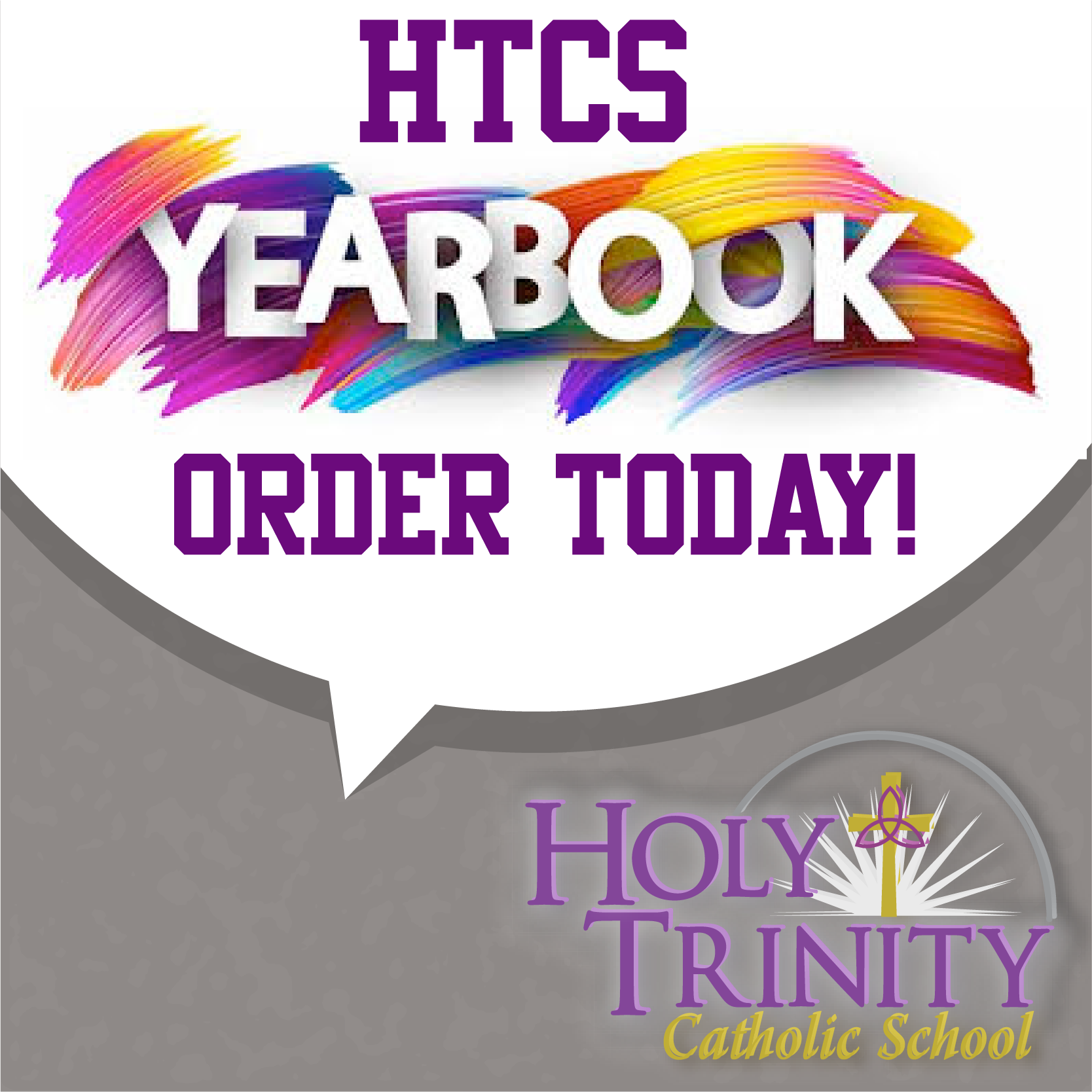 Order Your HTCS Yearbook!